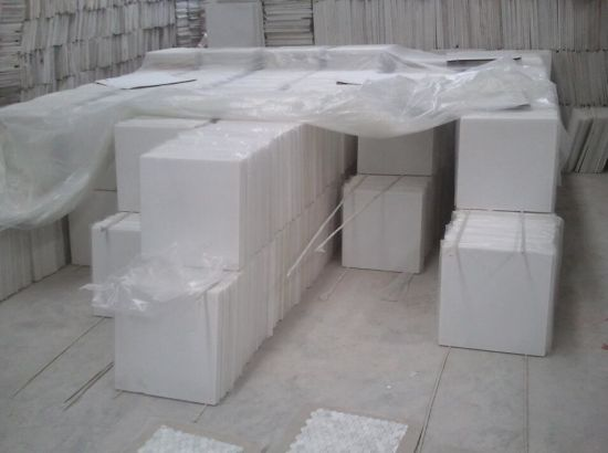 White Tiles, Ceramic Tile, Bathroom Tile, Glossy Tile (HZX0411M) pictures & photos