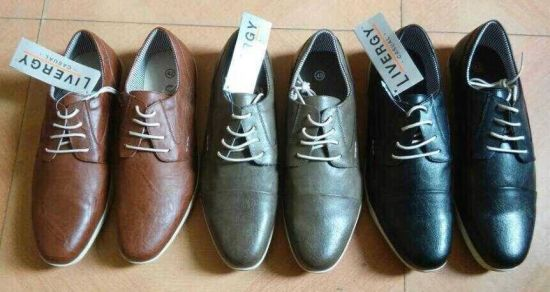 China Livergy Men′s Leather Casual