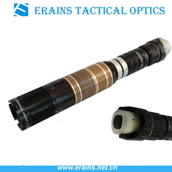 Erains Tac Optics Adjustable300MW High Power Long Range Military Tactical Green Laser Designator Illuminator Torch Light pictures & photos