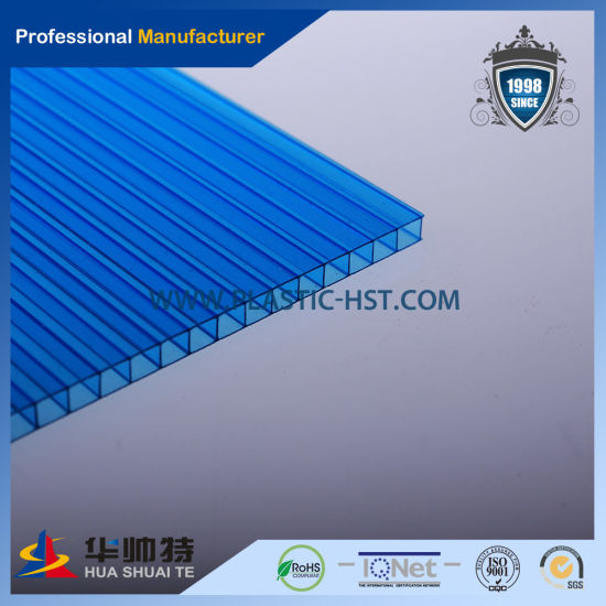 2018 Free Sample New Product Useful Colorful Polycarbonate Hollow Sheet