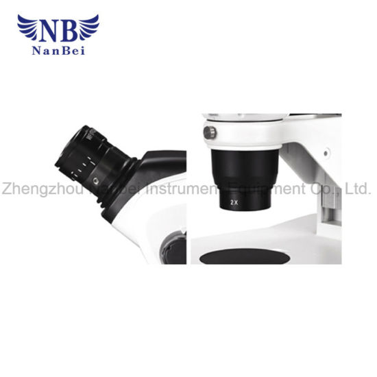 Laboratory Equipment Stereo Zoom Digital Microscope pictures & photos