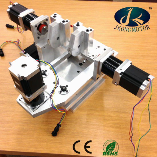 NEMA34 Stepper Motor with High Precision 20: 1 Planetary Gearbox pictures & photos