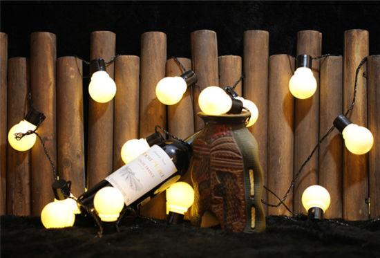 Led Globe Bulb String