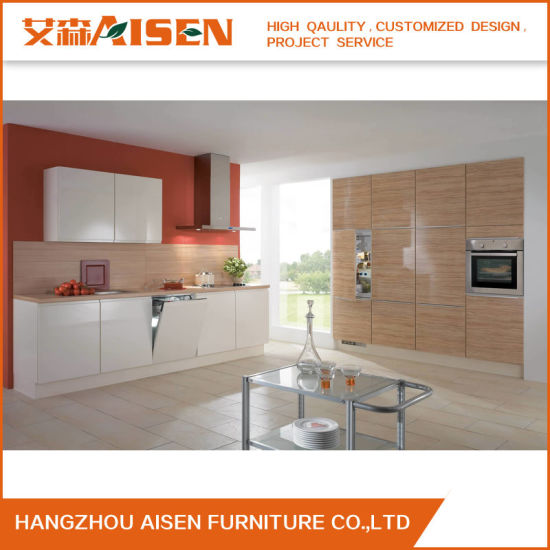 China L Shape Hot Selling Modern Simple Kitchen Cabinet China