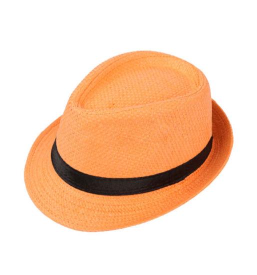 a33e2eac7e5 China Custom Beach Summer Fedora Hat Women Ladies Paper Straw Hat ...