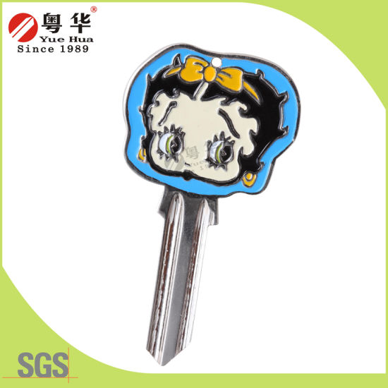 Factory Price Hot Sales Custom 3D Colorful Groovy Key Blank for Locks pictures & photos
