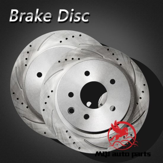 OE Quality Rear Brake Disc 432068H305 for Nissan/Renault