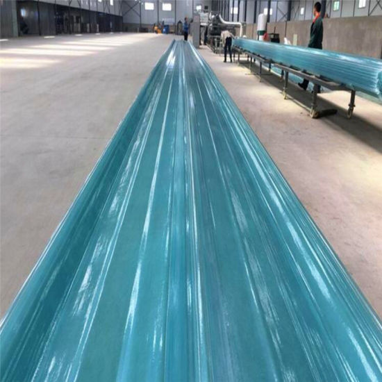 China FRP Clear Corrugated Fiberglass Roof Panels