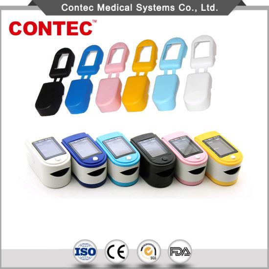 Contec Cms50dl LED Fingertip Oxygen Monitor Pulse Oximeter Medical Equipment