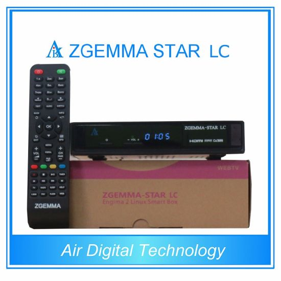 China Low Cost Zgemma Star LC Linux OS E2 1080P Satellite