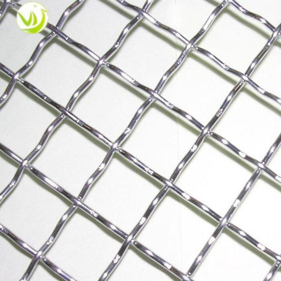 China Ss 316stainless Steel Crimped Woven Wire Mesh for Heat ...