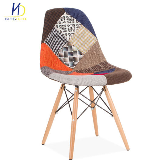 Groovy 2018 Strong Simple Life Design Wood Legs Fabric Cover Dining Room Plastic Chairs Machost Co Dining Chair Design Ideas Machostcouk