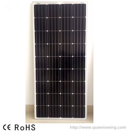 150W Monocrystalline Solar Panel with CE Apvoved (QW-M150W) pictures & photos
