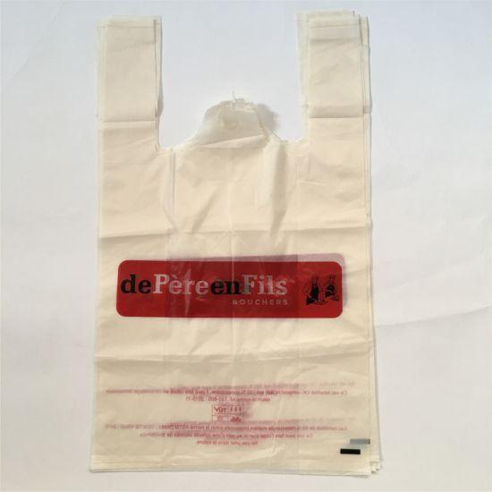 Corn Starch Based 100% Cornstarch Biodegradable Shopping PLA Hemp Hospital  Plastic Bag