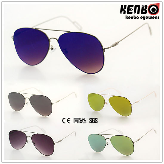 New Coming Fashion Sunglasses with Flat Lens CE FDA Km15213 pictures & photos