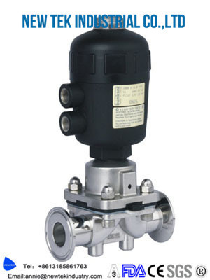 China hygienic aisi316 triclamp diaphragm valve with sample hose hygienic aisi316 triclamp diaphragm valve with sample hose barb ccuart Gallery