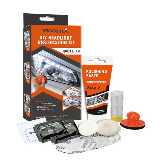 Refresh DIY Headlight Restoration Kit for Car Headlight Repair