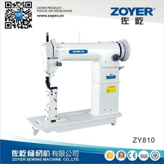 China Zoyer Golden Wheel Single Needle Post Bed Sewing Machine Zy810 China Sewing Machine Industrial Sewing Machine