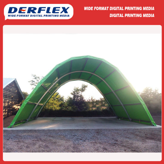 Fuzzy Touch Vinyl Fabrics for Vegetable Tent