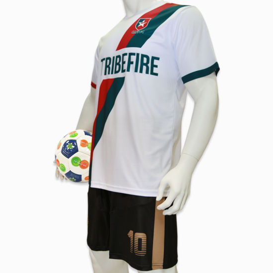 Apparel Soccer Shirt Wear Soccer Jersey Sublimation Football Jersey School Boys Soccer Uniforms pictures & photos
