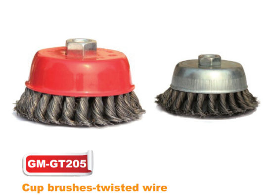 Twisted Wire Cup Brushes (GM-GT2050) pictures & photos