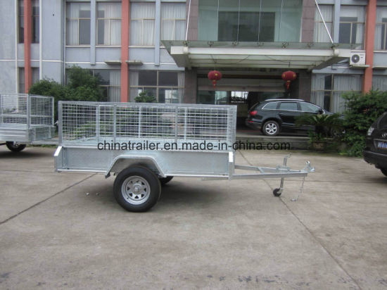 2016 Hot Sale! ! ! Australia Standard Box Utility Trailer with Cage
