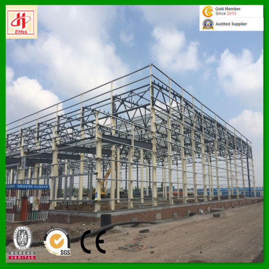Industrial Light Steel Prefabricated Workshop pictures & photos