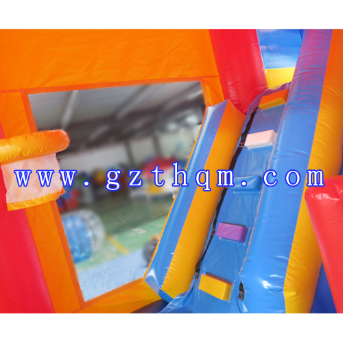 Children Inflatable Bounce House Jumping Castle/Inflatable Bouncy Castle with Slide pictures & photos