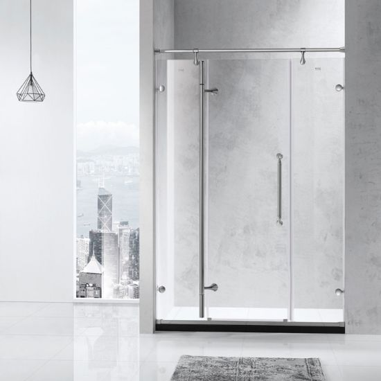 G28s21L Wholesale Price High Grade 304SUS Sliding Glass Bathroom Luxury Shower Room