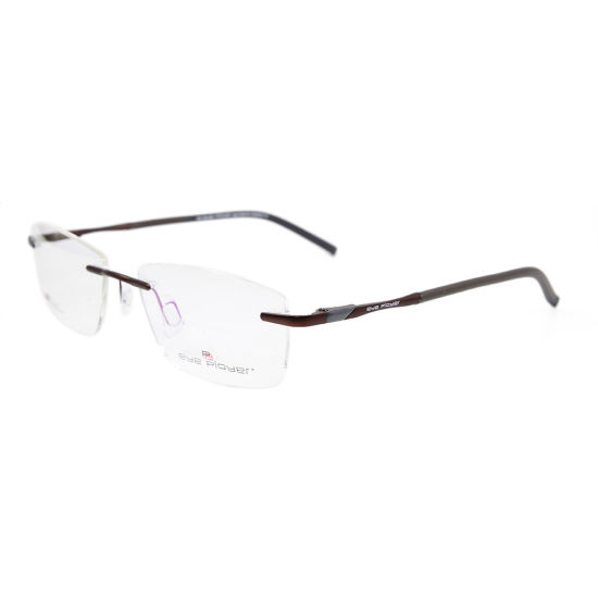6c00f040fc China Wholesale Fashion Design Rimless Glasses Frames with Metal Optical  Frames for Men