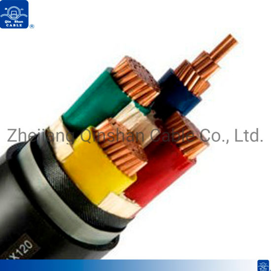 0.6/1kv 4core X50mm 70mm 95mm XLPE Armoured Cable pictures & photos
