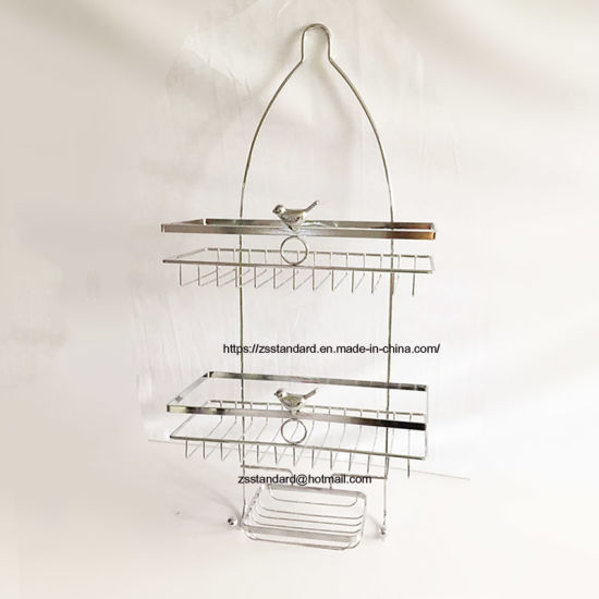 China Bathroom Shelf Shower Storage Rack Holder Shampoo Bath