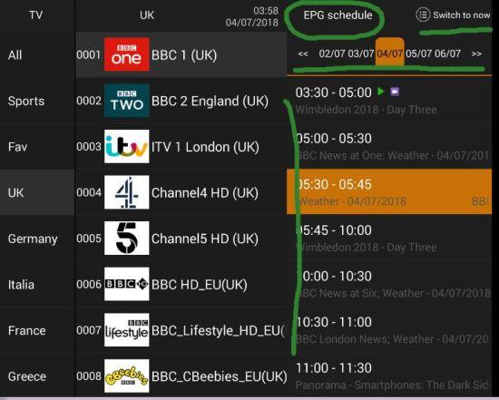 China 1year USA Eutv IPTV Lifetime Package Subscription 3000
