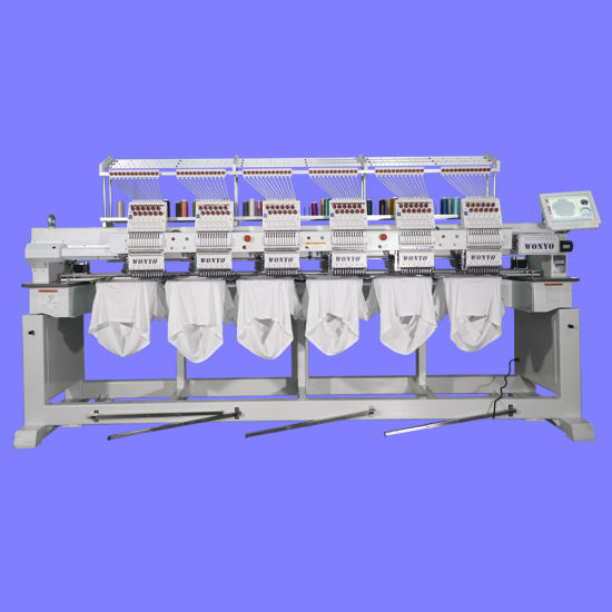China Industrial Computerized 8 Head Embroidery Hat Machine With Free Design Software China 8 Head Embroidery Machine Embroidery Hat Machine