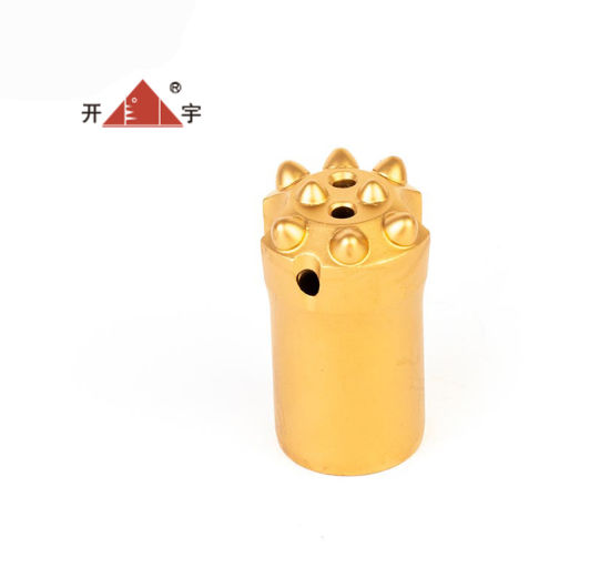 8 Buttons 7 11 12 Degree Tapered Rock Drill Button Bits Rock Drilling Bits