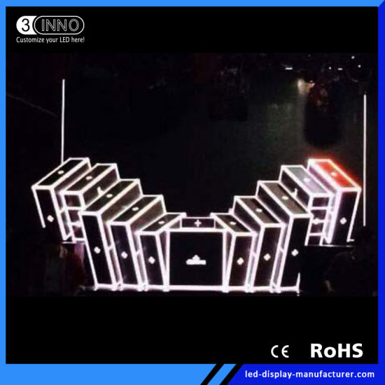 P5mm High Refresh Rate 3D Effect Video DJ Screen LED Display