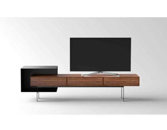 Foshan Furniture Supplier Simple Design Plywood Custom Hotel Bedroom TV Stand pictures & photos