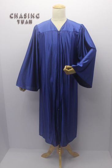 Navy College Graduation Gown Only