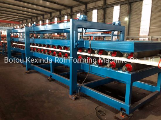 Kexinda Z-Lock Sandwich Panel Production Line in Stock pictures & photos