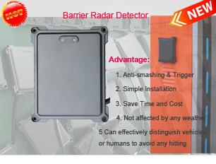 2020 New High Quality Barrier Radar Sensor Radar Detector with Trigger and Anti-Smash Function