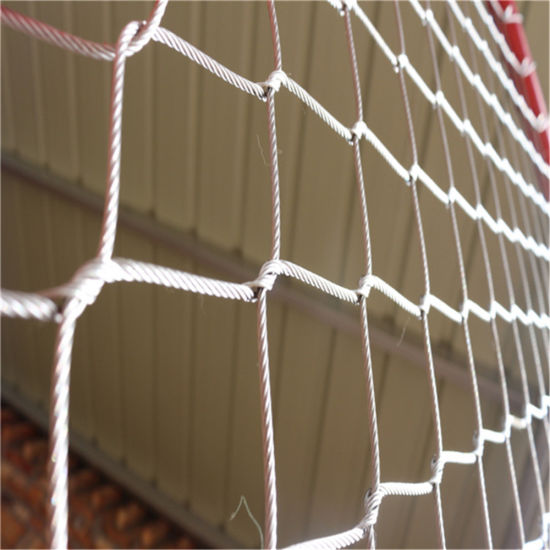 Stainless Steel Wire Rope Zoo Mesh for Animals Protection
