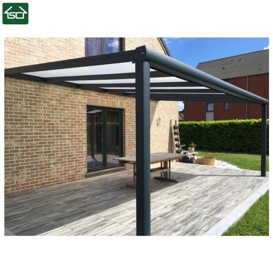 China Retractable Polycarbonate Aluminum Terrace Roof China Terrace Roof Aluminum Terrace Roof