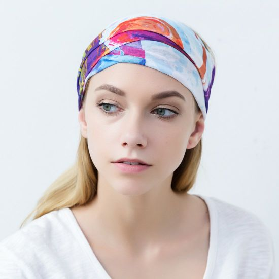 Outdoor Magic Headband Elastic Seamless Bandana Scarf UV Resistence Sport Headwear