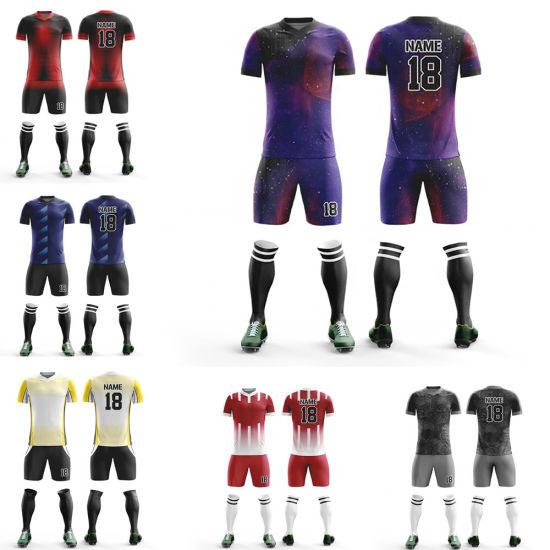 56d821f5af3 Custom Sports Goods Latest Design Sublimation Athletic Create Your Soccer  Jersey
