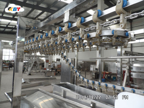 Automatic200-500 Small Poultry Chicken Slaughtering Equipment Line for Slaughterhouse