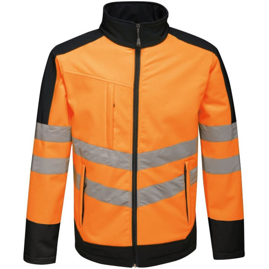 Hi Viz Work Wear Rain Reflective Multi Reflective Jacket for Traffic Safety