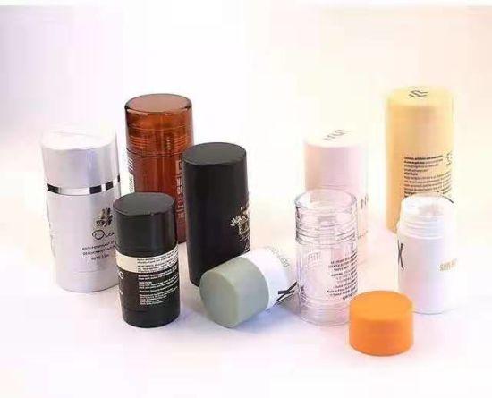 90ml Deodorant Containers Twist up Deodorant Tubes with White Screw Caps and Discs