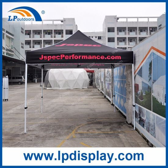 Hexagonal Steel Tube 3mx3m Folding Canopy with Logo Printed for Sale pictures & photos