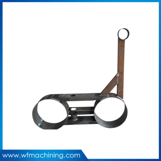 Laser Cutting Powder Coated Black Bending Welding Parts Processing Fabrication