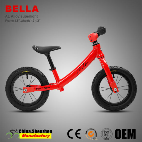High-End 12inch 2~5 Years Children Aluminum Alloy Balance Kids Bike pictures & photos